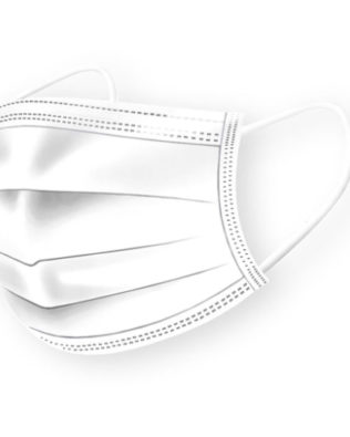 DISPOSABLE FACE MASK – White